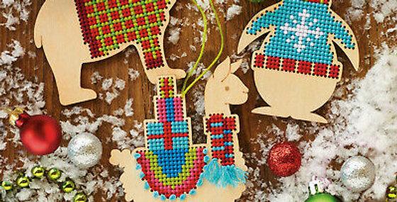 Animal Wood Ornaments   DIMENSIONS
