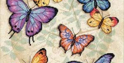 Butterfly Profusion | Counted Cross Stitch | DIMENSIONS