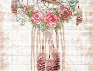 Floral Dreamcatcher | Counted Cross Stitch | DIMENSIONS