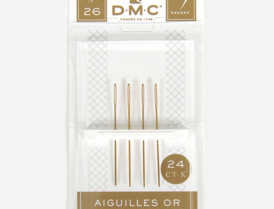 GOLD TAPESTRY NEEDLES SIZE No.26