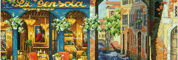 Charming Waterway   Counted Cross Stitch   DIMENSIONS
