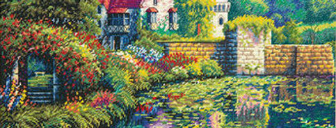English Castle | Counted Cross Stitch | DIMENSIONS