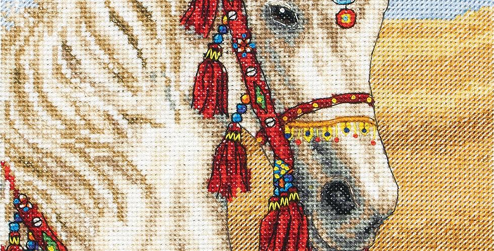 Anchor Essentials Cross Stitch Kit - Arabian Horse