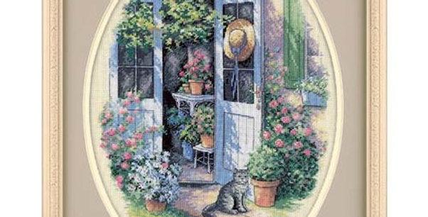 Garden Door | Counted Cross Stitch | DIMENSIONS