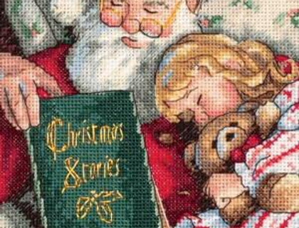 Christmas Stories | Counted Cross Stitch Kit | DIMENSIONS