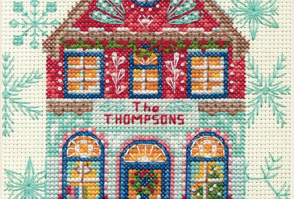 Holiday Home | Counted Cross Stitch | DIMENSIONS