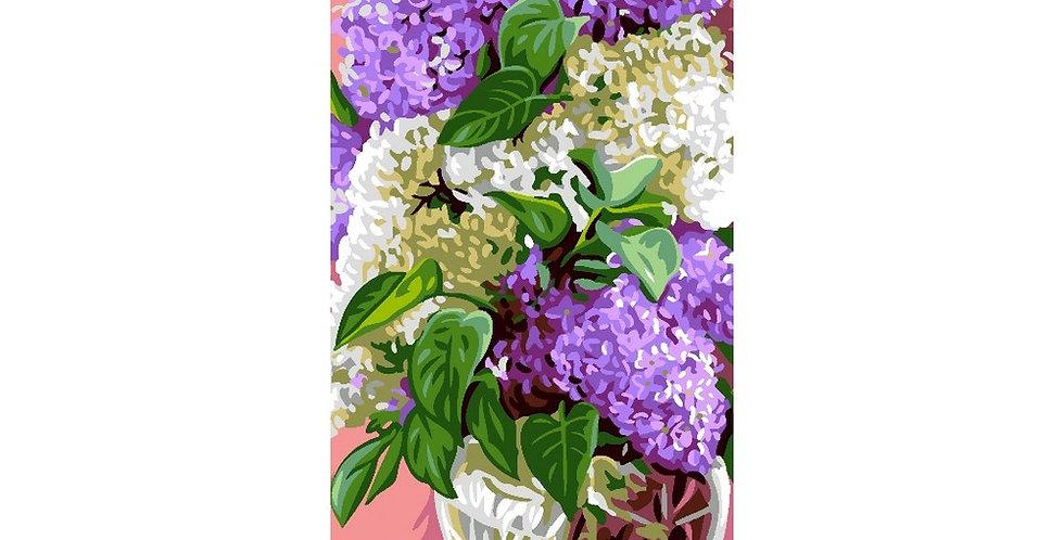 Royal Paris Lilac Bouquet Tapestry Canvas