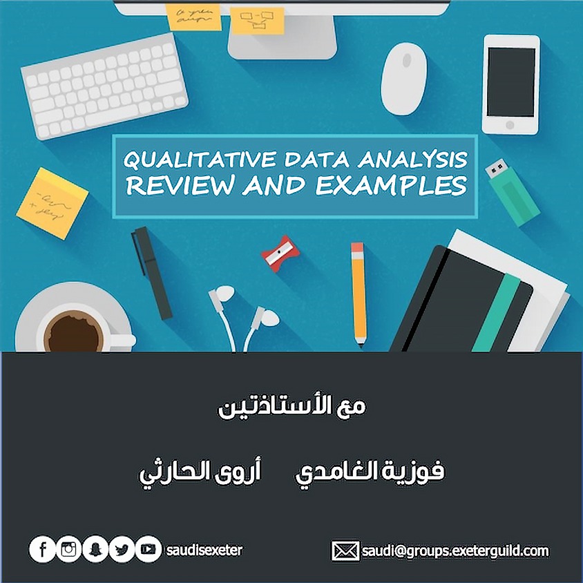 Qualitative data analysis: review and examples