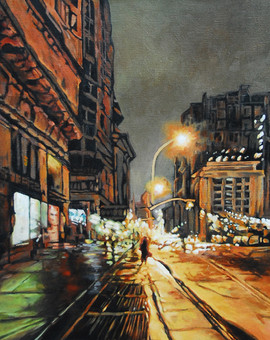 NYC Night Scene