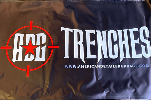 ADG/Trenches 3x5 vinyl banner with grommets