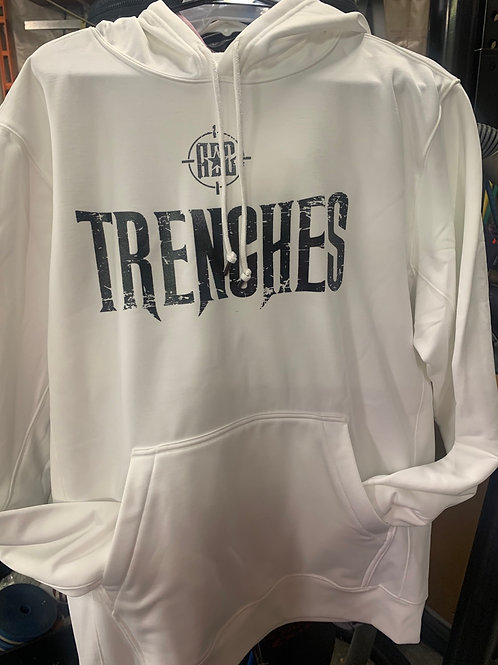 White American Detailer Garage  Trenches Hoodie