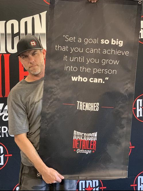 ADG Set A Goal Banner