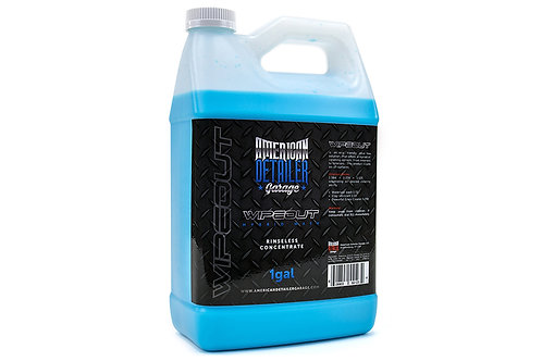 Wipeout Waterless Wash Concentrate Gallon