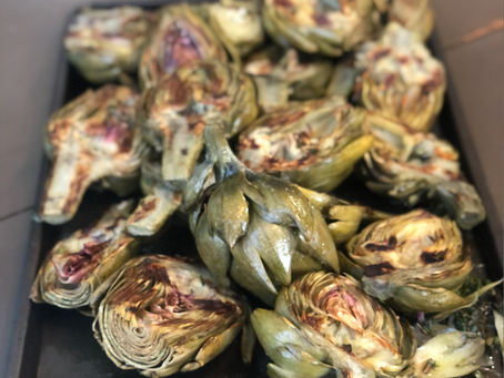 Amazing Grilled Artichokes