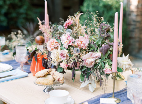 A bridal shower tea party that would make even the ladies of Downton jealous