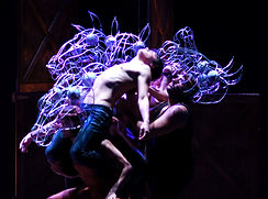 'Equus' onstage at the Iconic Woodstock Playhouse; Alex Greif