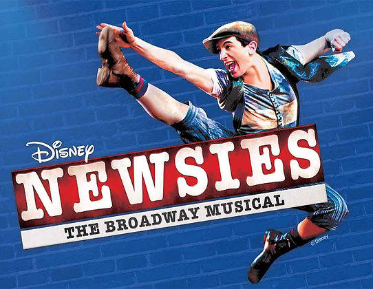$36 Blue Ticket +$5 Newsies Sun. 7/21 2:00pm