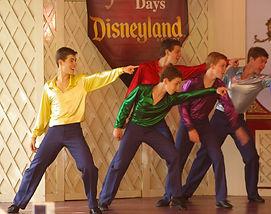 Performing in Disneyland