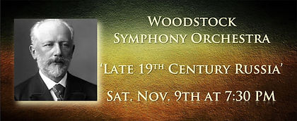 Woodstock Symphony Orch Nov 2019