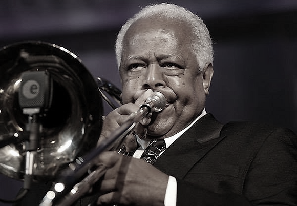 Slide Hampton and Bop Island, Nov 18 at 7:30 pm $43 Blue Tier Ticket + $4