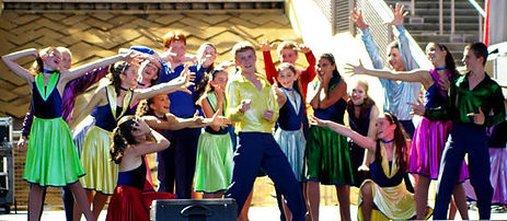Performing Musical Theatre, Hurley New York Troupe in California
