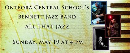 Bennett Jazz Band May 2019