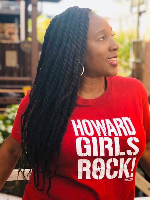 Howard Girls Rock! Tee/Off Shoulder Crewneck/Hoodie