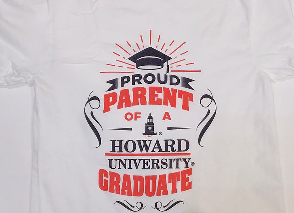 Proud Parent of A Howard Graduate Tshirt