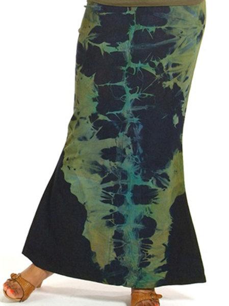 Dyed Nan Denim Skirt