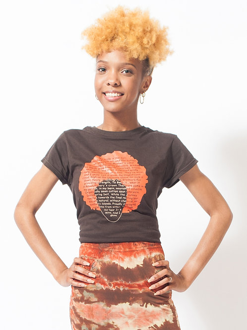 My Hair Is More Than A Style Afro Tee