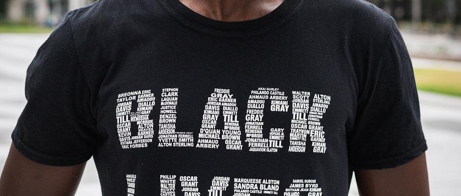 Black Lives Matter T-Shirt (Say Their Names)