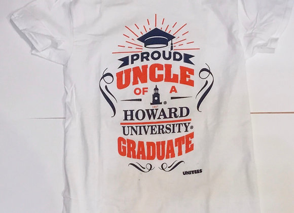 Proud Uncle of A Howard Graduate Tshirt