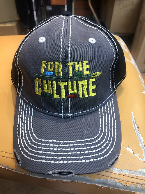 """""""For The Culture"""" Embroidered Cap"""
