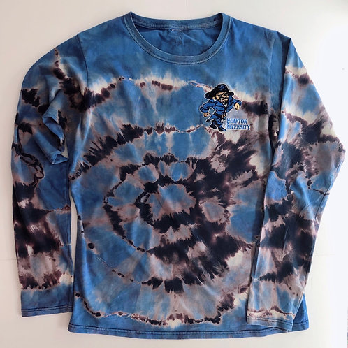 Old School Pirate Reverse Dyed Long Sleeve