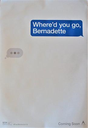 Where'd You Go, Bernadette