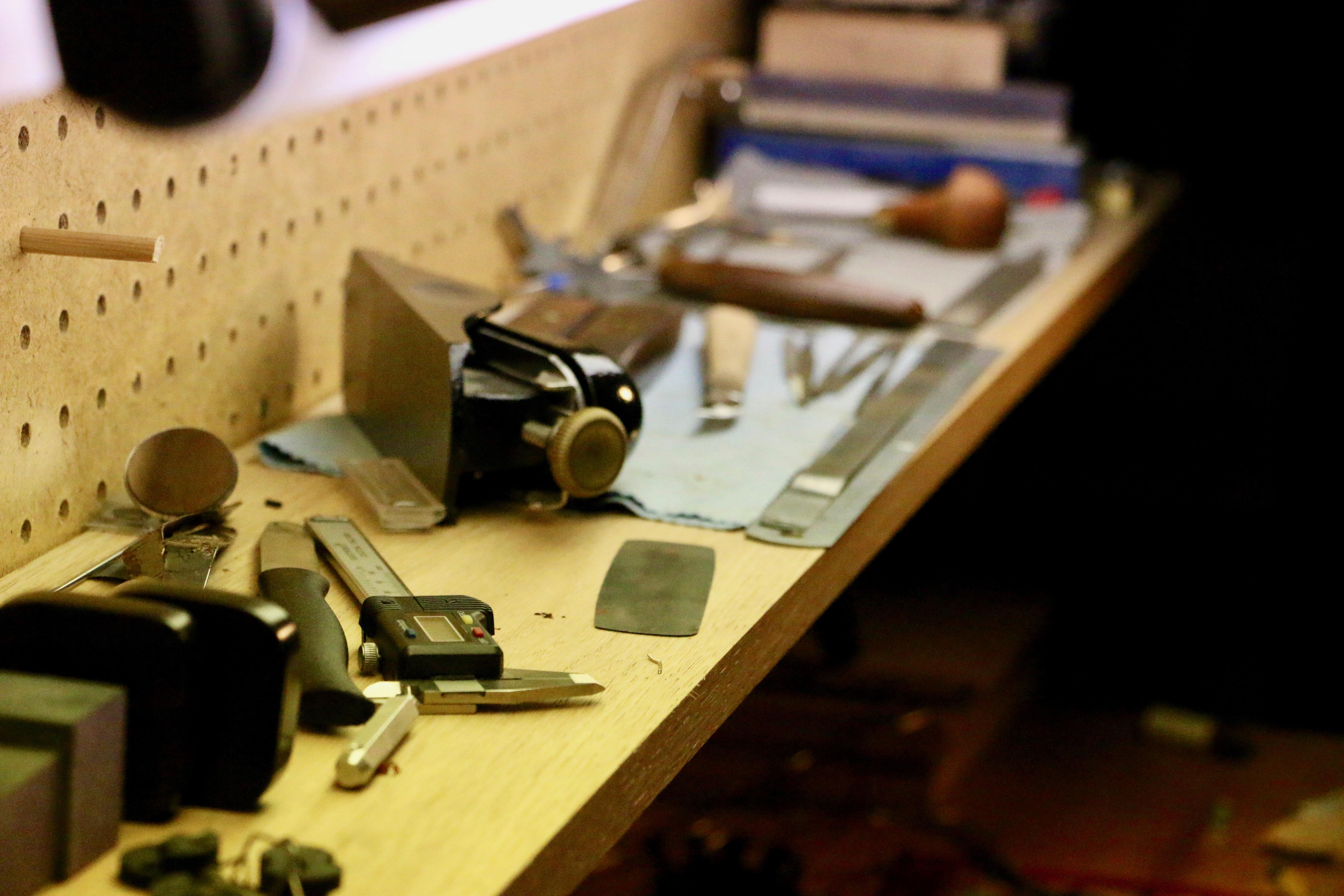 Violin Repair Bench