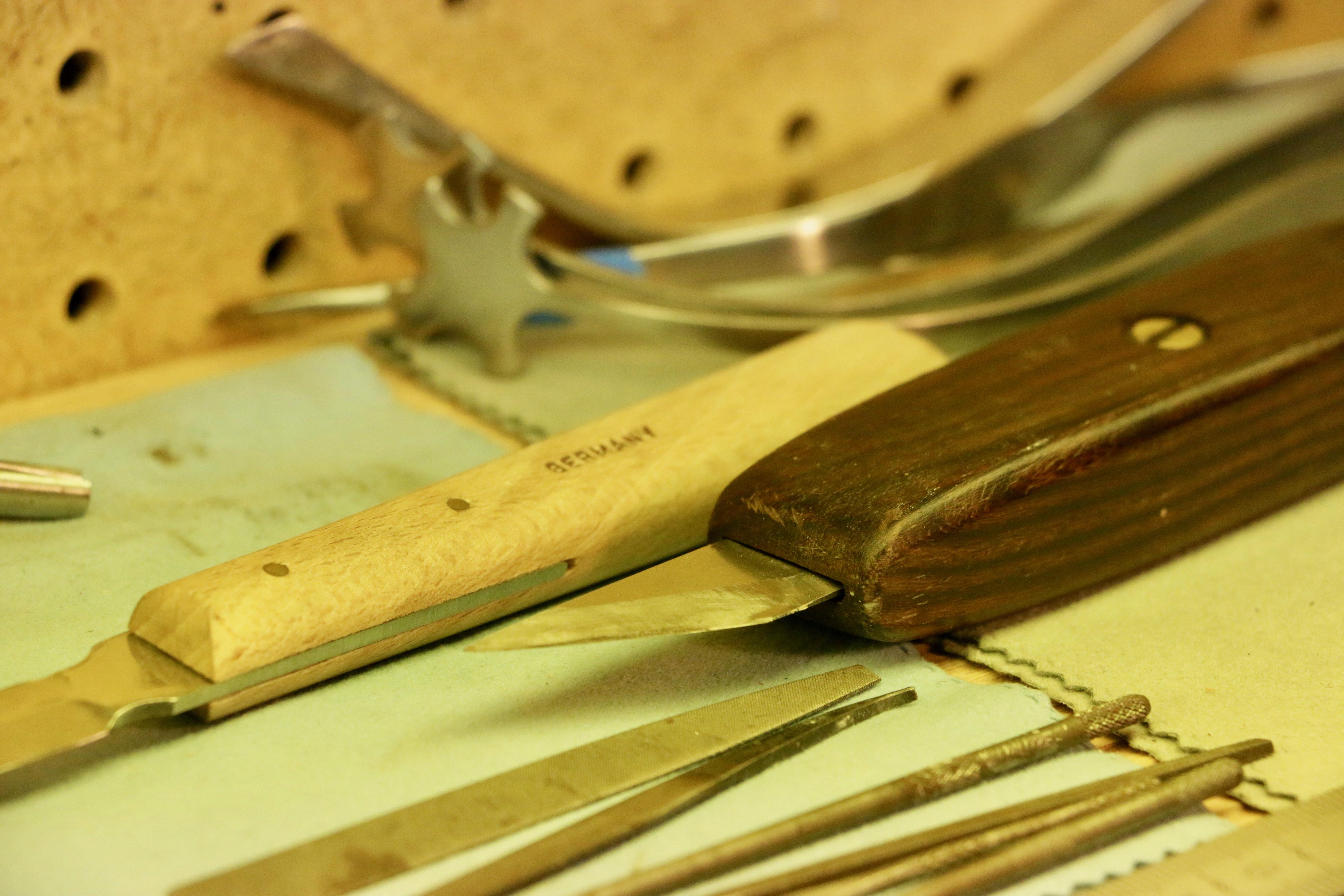 Violin Repair Knives