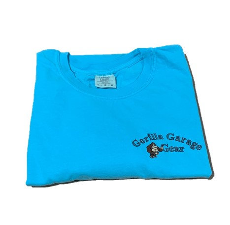 Gorilla Garage Gear T-Shirt Blue