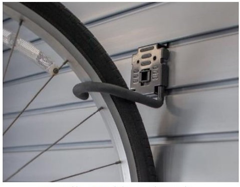 "5"" Bike Holder with Lock"