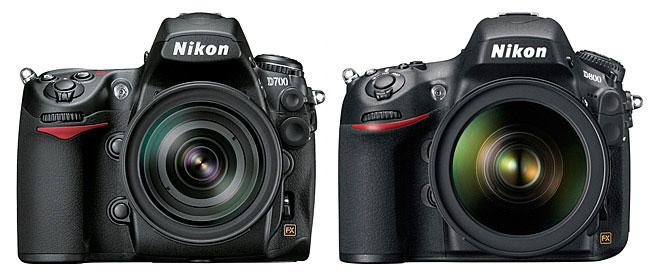 Nikon D800 & D700