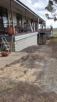 Bessa brick wall - after