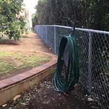 Harvey St - Chainwire fence