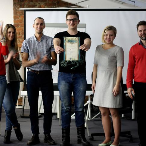 Награждение победителей, Zoon 2017