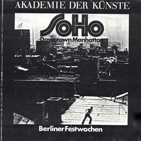 Berlin Catalogue for AKADEMIE DER KUNSTE Art Festival 1976