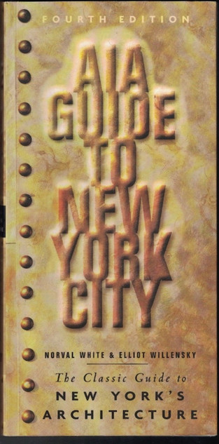 Cover of Fourth Edition 2000 of the AIA GUIDE TO NEW YORK