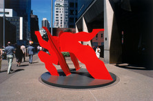 Fourth Edition of AIA NYC Book 2000, FLYING RED 1973/87- Third Ave at 55 ST., 3 Ave. NYC
