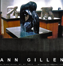PR card for Solo Exhibition Pardo Gallery NYC 2000