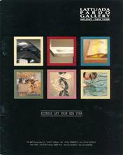 2001 Pardo/Lattuda Gallery Catalogue Cover for 2001 Solo Exhibition