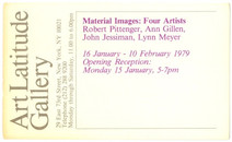 1979 New York City Gallery Show