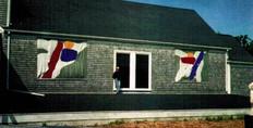 Cape Cod MUSEUM , Dennis, MA. SCULPTURE Exhibition 1996